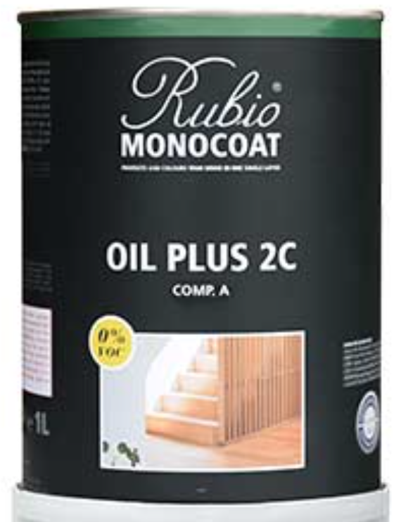 Rubio Monocoat Oil Plus Comp. A - PURE - Farblos