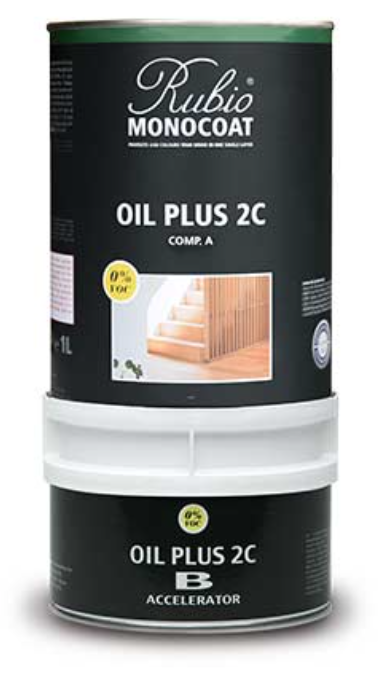 Rubio Monocoat Oil Plus 2C - 350 ml. Standardfarben 1-15